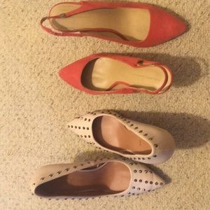 Zara pair of studded shoes 7.5